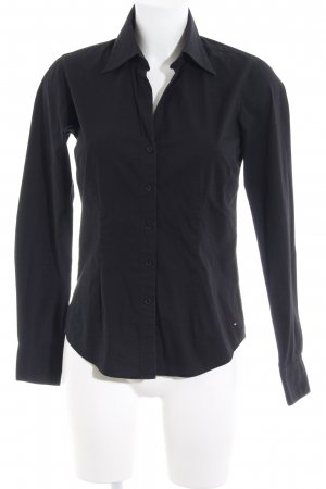 Tommy Hilfiger Long Sleeve Shirt black simple style