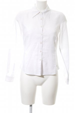Tommy Hilfiger Camisa de manga larga blanco estilo «business»