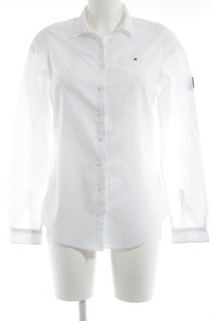 Tommy Hilfiger Chemise à manches longues blanc style décontracté