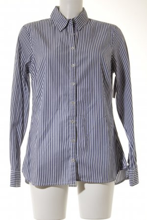 Tommy Hilfiger Langarmhemd weiß-dunkelblau Streifenmuster Casual-Look