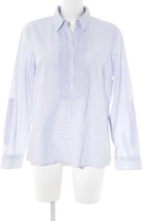 Tommy Hilfiger Langarmhemd weiß-himmelblau Nadelstreifen Casual-Look
