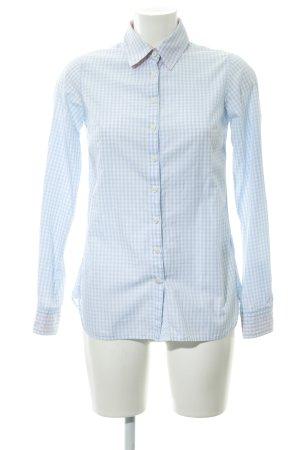 Tommy Hilfiger Camicia a maniche lunghe bianco-azzurro motivo a quadri Vichy
