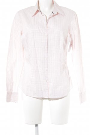 Tommy Hilfiger Shirt met lange mouwen wit-roze geruite print casual uitstraling
