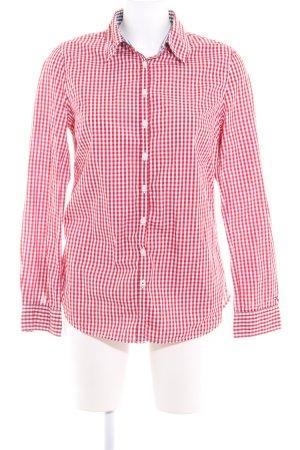 Tommy Hilfiger Camicia a maniche lunghe rosso mattone-bianco motivo a quadri