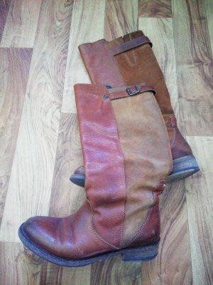 Tommy Hilfiger Jackboots brown leather