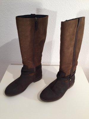 Tommy Hilfiger Stivale invernale marrone scuro-marrone Pelle