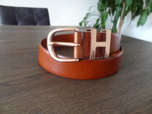 Tommy Hilfiger Leather Belt cognac-coloured leather