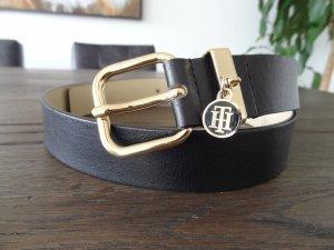Tommy Hilfiger Cintura di pelle nero Pelle