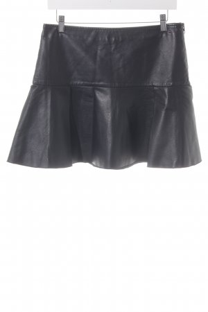 Tommy Hilfiger Leather Skirt black party style