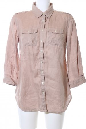 Tommy Hilfiger Linen Blouse pink business style