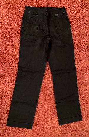 Tommy Hilfiger Pantalón de lino negro