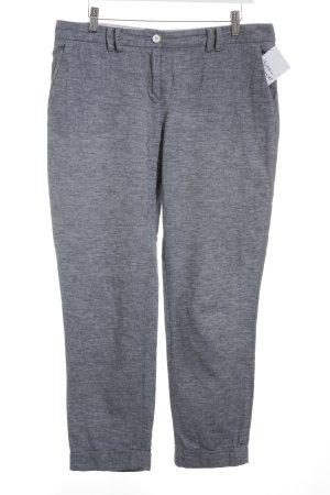 Tommy Hilfiger Pantalon en lin bleu acier-blanc moucheté Look de plage