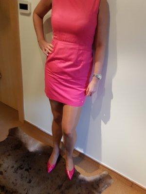 Tommy Hilfiger Leinenkleid pink