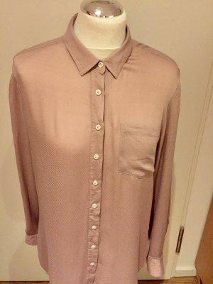 Tommy Hilfiger: Lockere Bluse mit schönem Glanz in Rosé Gr. 10/38