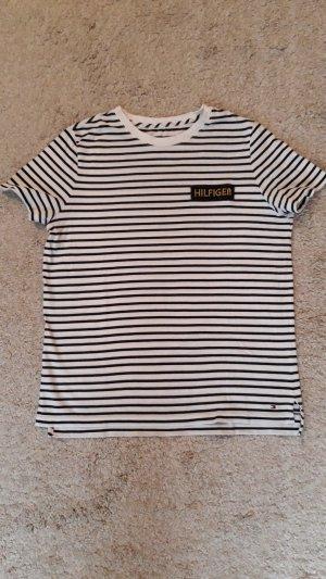 Tommy Hilfiger Logo Shirt Stripes Gr.S/M