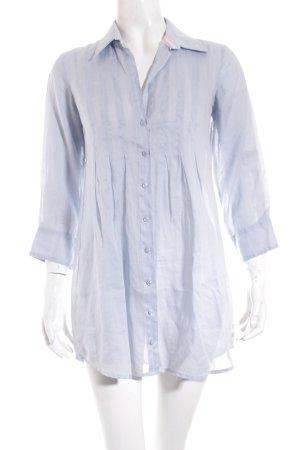 Tommy Hilfiger Long-Bluse hellblau schlichter Stil
