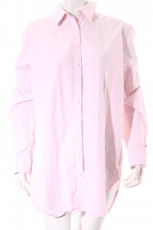 Tommy Hilfiger Long-Bluse rosé Casual-Look
