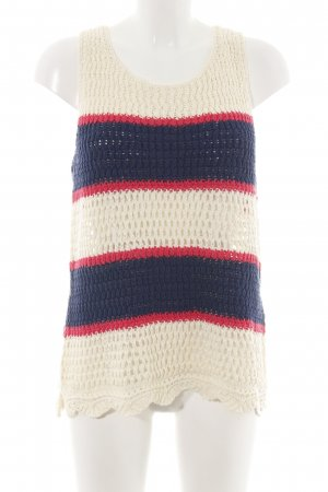 Tommy Hilfiger Longpullunder Streifenmuster Casual-Look