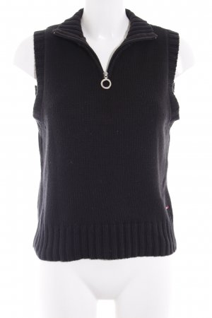 Tommy Hilfiger Long Cardigan black cable stitch casual look