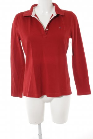 Tommy Hilfiger Longsleeve red athletic style