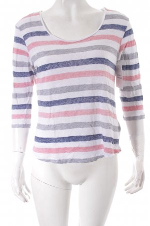 Tommy Hilfiger Longsleeve Streifenmuster Casual-Look