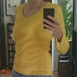 Tommy Hilfiger Longesleeve geel Katoen