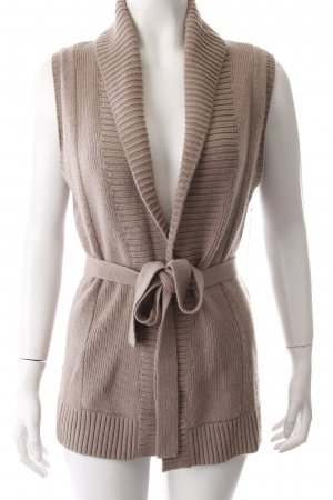 Tommy Hilfiger Long vest beige brown