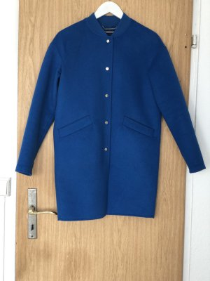 Tommy Hilfiger Fleece jas blauw