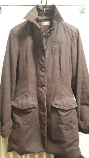 Tommy Hilfiger Denim Between-Seasons-Coat bronze-colored cotton