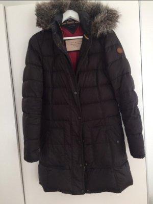 Tommy Hilfiger Abrigo marrón oscuro