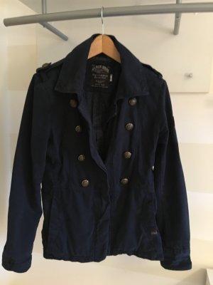 Tommy Hilfiger Marine Style Baumwoll Jacke Dunkel Blau Gr.38