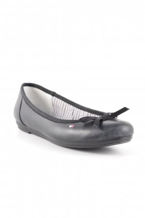 Tommy Hilfiger Mary Jane Ballerinas schwarz Elegant