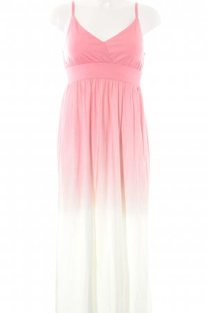 Tommy Hilfiger Maxi Dress neon pink-mint color gradient casual look