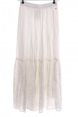 Tommy Hilfiger Maxi Skirt cream casual look