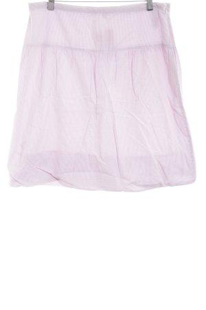 Tommy Hilfiger Midirock pink-weiß Streifenmuster Casual-Look
