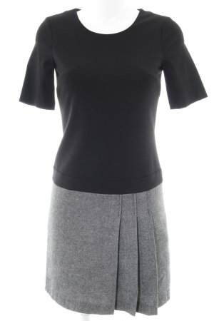 Tommy Hilfiger Minikleid schwarz-grau Business-Look
