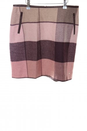 Tommy Hilfiger Minirock pink-bronzefarben Allover-Druck Business-Look