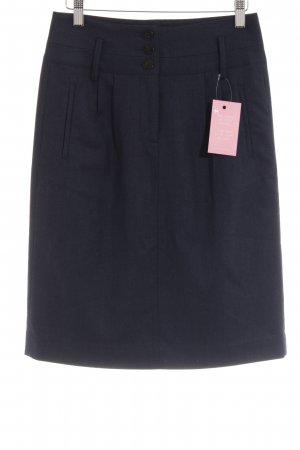 Tommy Hilfiger Minirock dunkelblau Business-Look