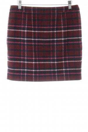 Tommy Hilfiger Miniskirt dark red check pattern casual look
