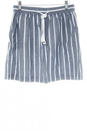 Tommy Hilfiger Miniskirt slate-gray-white striped pattern casual look