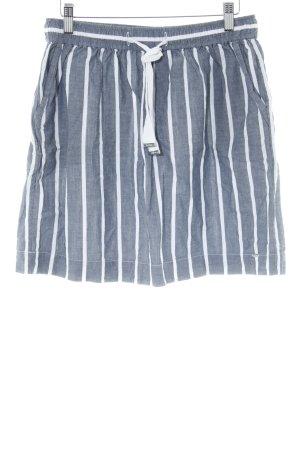 Tommy Hilfiger Minirock graublau-weiß Streifenmuster Casual-Look