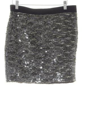 Tommy Hilfiger Mini-jupe gris brun-noir style festif