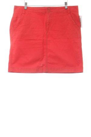 Tommy Hilfiger Minirock rot Jeans-Optik