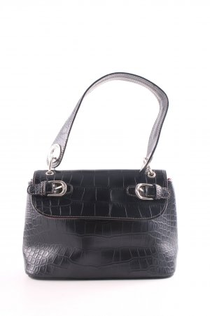 Tommy Hilfiger Mini Bag black animal pattern business style