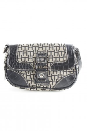 Tommy Hilfiger Mini Bag oatmeal-black animal pattern party style