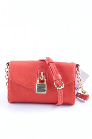 Tommy Hilfiger Mini Bag neon orange-gold-colored casual look