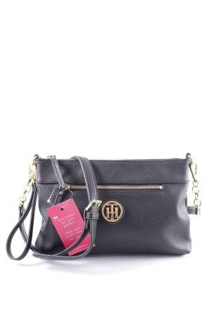 Tommy Hilfiger Minitasche schwarz-goldfarben Elegant