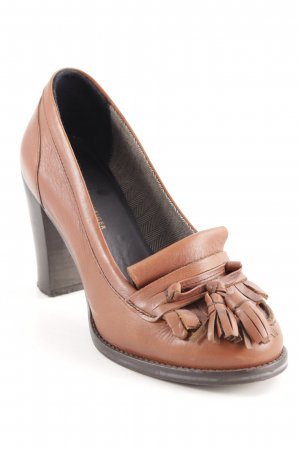 Tommy Hilfiger Moccasins cognac-coloured-black country style