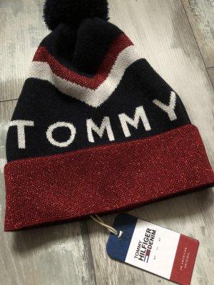 Tommy Hilfiger Mütze neu mit Etikett Glitzer