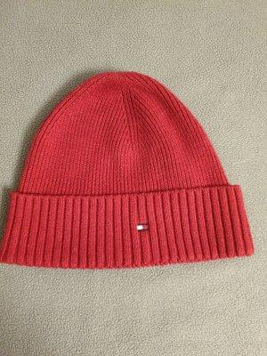 Tommy Hilfiger Baker's Boy Cap red cotton